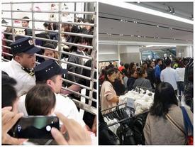 'Vỡ trận' Black Friday: Trung tâm thương mại đóng vội cửa vì quá tải