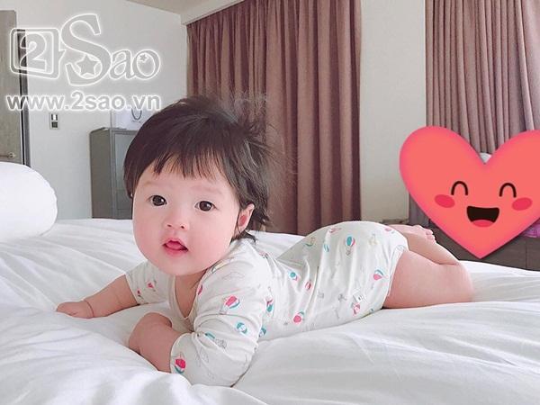 Mới 8 tháng tuổi, ái nữ nhà Đặng Thu Thảo đã điệu ơi là điệu khiến bà mẹ hoa hậu còn phải giật mình-5