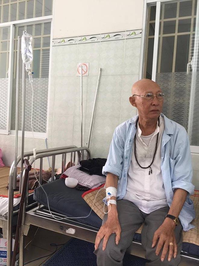 Vợ nghệ sĩ Lê Bình bất ngờ quay về chăm sóc chồng, chuẩn bị cho tình huống xấu nhất-1