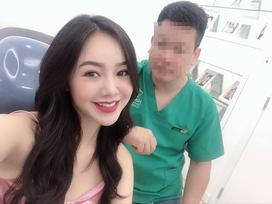 Em gái Lan 'Cave' - hotgirl Quỳnh Kool công khai tân trang 'góc con người'