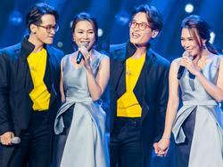 Mỹ Tâm quên lời, giận dỗi Hà Anh Tuấn: 'Tuấn thấy Tâm hát sai phải hát sai theo chứ'