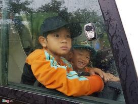 Cần Giờ mưa lớn, hơn 4.000 người dân đã tới nơi tránh bão
