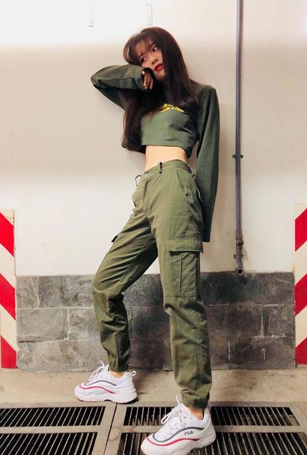 Han Sara giảm cân để có vòng eo 53cm nhỏ nhất showbiz Việt