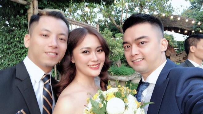 Vượt mặt anh là cơ trưởng điển trai, con gái út xinh đẹp của nghệ sĩ Hương Dung lấy chồng ở tuổi 24-3