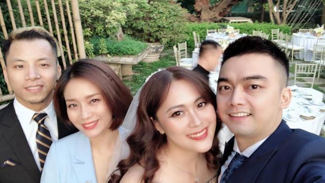 Vượt mặt anh là cơ trưởng điển trai, con gái út xinh đẹp của nghệ sĩ Hương Dung lấy chồng ở tuổi 24-6