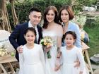 Vượt mặt anh là cơ trưởng điển trai, con gái út xinh đẹp của nghệ sĩ Hương Dung lấy chồng ở tuổi 24