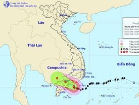 Bão số 9 giật cấp 13 áp sát Vũng Tàu - Bến Tre, sóng biển cao 7m