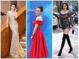May quá, Phương Oanh tái xuất lại xinh tựa búp bê - Kỳ Duyên diện váy ngắn cũn sang chảnh như vedette
