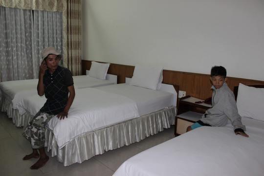Lan tỏa hình ảnh khách sạn tại Vũng Tàu đón người nghèo tránh bão số 9-2