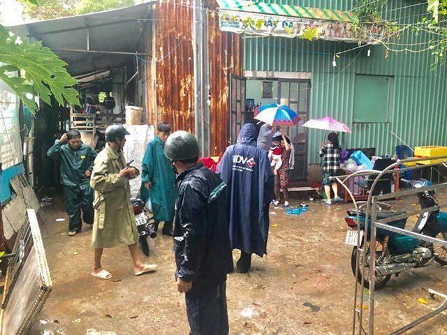 Lan tỏa hình ảnh khách sạn tại Vũng Tàu đón người nghèo tránh bão số 9-3