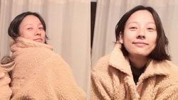 Lee Hyori khoe mặt mộc, xuất hiện sau nhiều tháng trời 'lặn mất tăm'