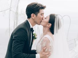 Trọn bộ ảnh đẹp như ngôn tình trong đám cưới của 'Triệu Mẫn' Giả Tịnh Văn và ông xã kém 9 tuổi