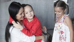 Diva Hồng Nhung công khai hai bé Tôm Tép bị sang chấn tâm lý khi chứng kiến bố có người phụ nữ khác