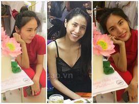 Fan xuýt xoa trước hình ảnh Thủy Tiên chân chất, mặt mộc không tì vết đón sinh nhật tuổi 33
