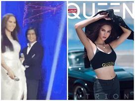 'Nữ hoàng sắc đẹp' Philippines bị chê vì eo và bụng lớn