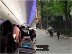 Fan cuồng theo chân BTS làm náo loạn khoang máy bay