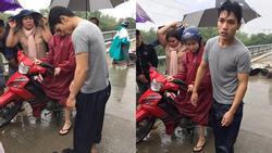 Nam thanh niên nhảy xuống sông cứu người gặp nạn trong bão số 9
