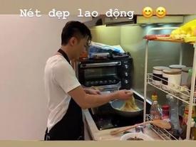 Bỏ chức sắc về làm 'dân thường', Cường Đô La chẳng còn ngại công khai việc bếp núc cho Đàm Thu Trang