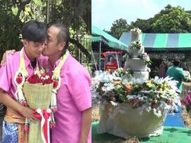 Thêm đám cưới gây xôn xao: Phi công trẻ 21 tuổi lấy trai già 52 sau 4 năm hẹn hò