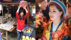 'Em gái bán lê' gây sốt ngày nào nay 'rực thắm' vạn người mê khi xuất hiện ở Lễ hội hoa tam giác mạch