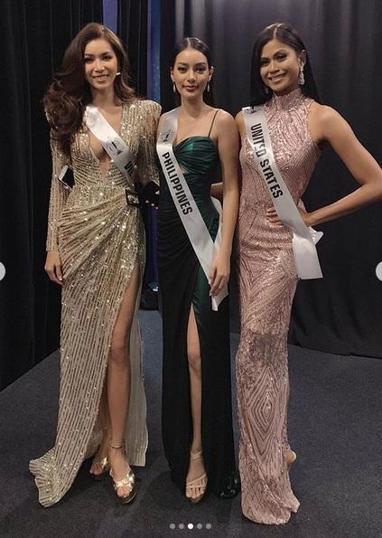Chẳng ngại mặc lại váy vừa cho Hoa hậu Philippines mượn, Minh Tú chặt đẹp dàn thí sinh hoa hậu nhờ body chuẩn vệ nữ-3