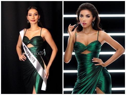 Chẳng ngại mặc lại váy vừa cho Hoa hậu Philippines mượn, Minh Tú chặt đẹp dàn thí sinh hoa hậu nhờ body chuẩn vệ nữ-7