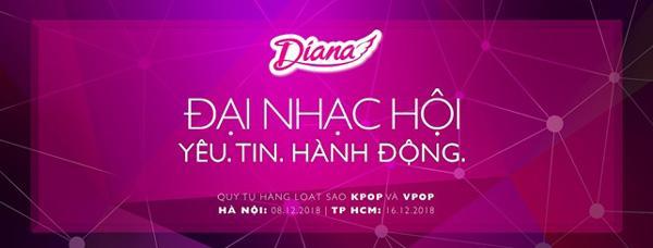 Diana tổ chức đại nhạc hội 'Yêu. Tin. Hành động.'-1