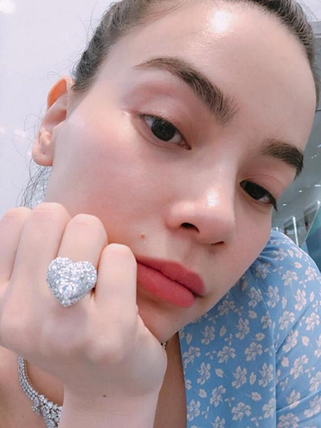OAN GIA TRÁI CHỦ: Minh Hằng khoe nhẫn kim cương, Hồ Ngọc Hà chẳng liên quan cũng bị réo tên ầm ĩ-5