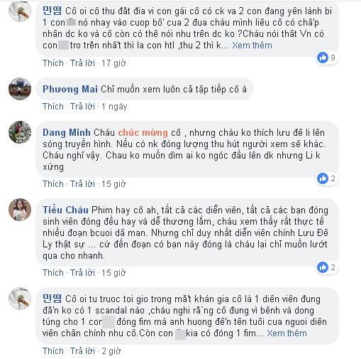Phát ngôn bênh vực Lưu Đê Li, có ai ngờ NSƯT Chiều Xuân bị khán giả ném đá đến mức phải xin lỗi dưới từng comment-4