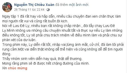 Phát ngôn bênh vực Lưu Đê Li, có ai ngờ NSƯT Chiều Xuân bị khán giả ném đá đến mức phải xin lỗi dưới từng comment-3