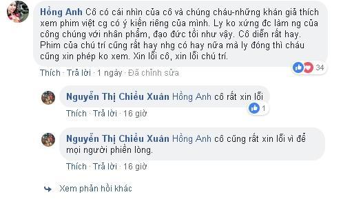 Phát ngôn bênh vực Lưu Đê Li, có ai ngờ NSƯT Chiều Xuân bị khán giả ném đá đến mức phải xin lỗi dưới từng comment-5