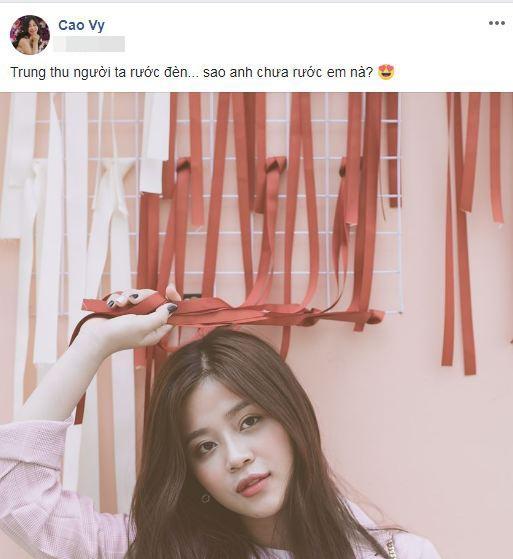 Thư Dung tái xuất Facebook sau nghi án bán dâm 25.000 USD và lập tức cập nhật avatar nhan sắc thơ ngây-5