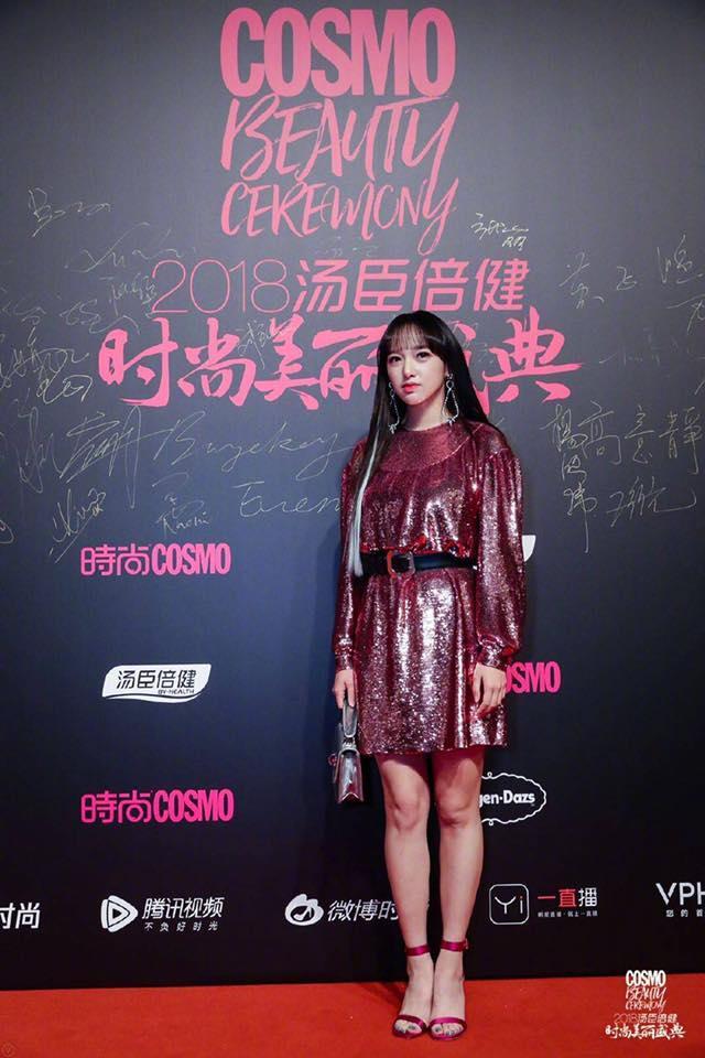 Thảm đỏ Cosmo: Hoàng hậu Tần Lam đẹp nổi bật, làm lu mờ loạt mỹ nhân từ Dương Mịch đến Đường Yên-14