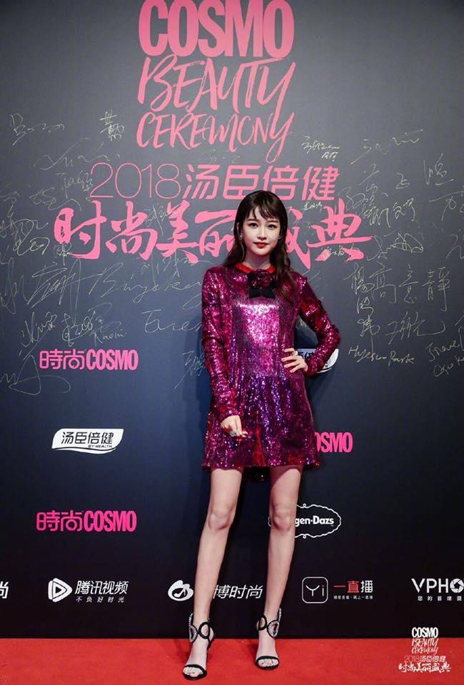 Thảm đỏ Cosmo: Hoàng hậu Tần Lam đẹp nổi bật, làm lu mờ loạt mỹ nhân từ Dương Mịch đến Đường Yên-15