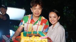 Thái Hòa dạy Kaity Nguyễn cười như con cá trong 'Hồn Papa Da Con Gái'