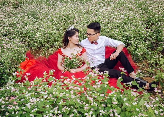 Mê mẩn ngắm đồi hoa tam giác mạch trên cao nguyên Mộc Châu lộng gió-9