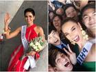 H'Hen Niê tạo dáng 'điên đảo' tại sân bay Bangkok, mỹ nữ Philippines được chào đón như nữ hoàng