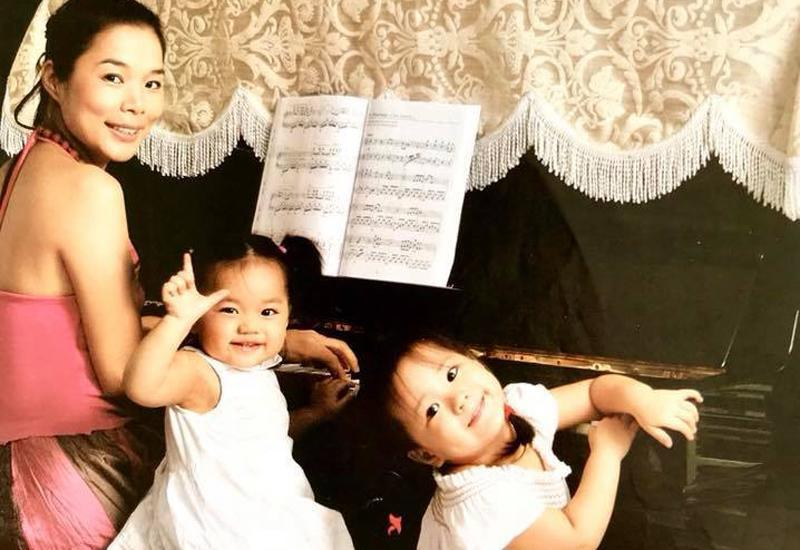 Vài năm không gặp, hai con gái của ca sĩ Mỹ Lệ gây bất ngờ vì ngoại hình phổng phao, gương mặt chuẩn hotgirl-2