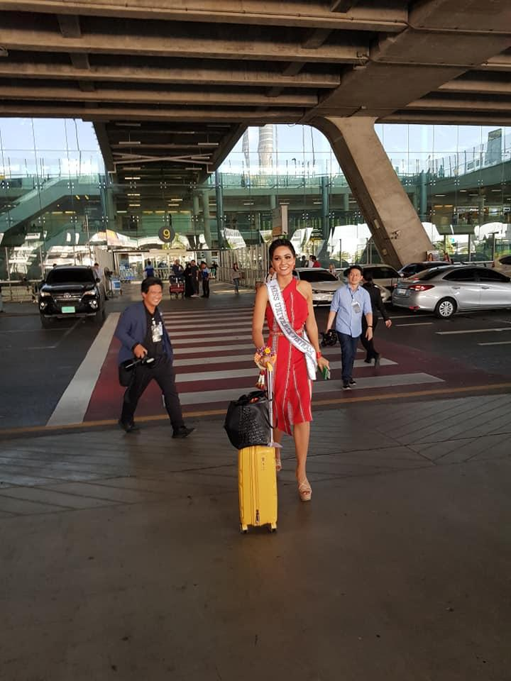 HHen Niê tạo dáng điên đảo tại sân bay Bangkok, mỹ nữ Philippines được chào đón như nữ hoàng-1
