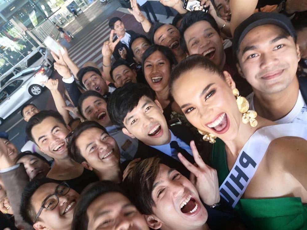 HHen Niê tạo dáng điên đảo tại sân bay Bangkok, mỹ nữ Philippines được chào đón như nữ hoàng-10