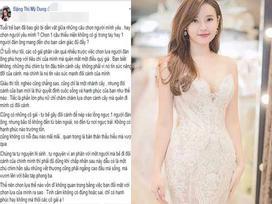 Sau hơn 2 năm hủy hôn với Phan Thành, Midu bất ngờ dạy phụ nữ cách đối mặt và chấp nhận với đớn đau trong tình cảm