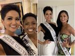 Chiều cao H'Hen Niê nổi bật hơn hẳn khi đọ sắc với đối thủ tóc tém và ứng viên sáng giá nhất Miss Universe 2018