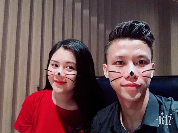 Chuyện tình ngọt ngào với những bóng hồng xinh đẹp của 5 cực phẩm đội tuyển Việt Nam-8