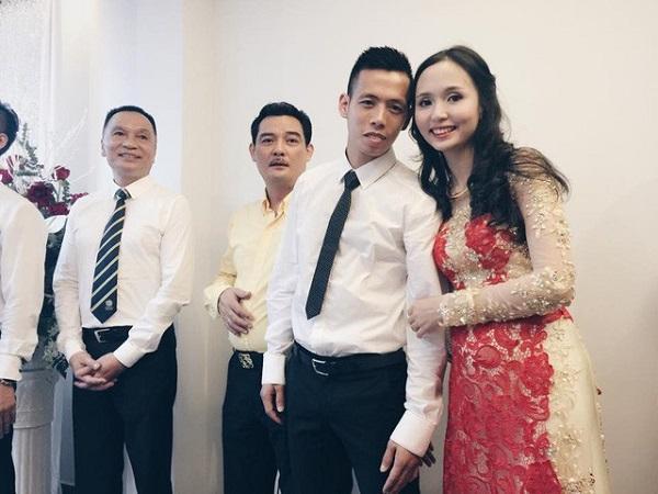 Chuyện tình ngọt ngào với những bóng hồng xinh đẹp của 5 cực phẩm đội tuyển Việt Nam-9