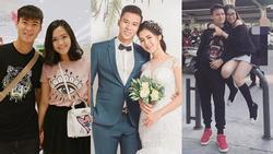 Chuyện tình ngọt ngào với những bóng hồng xinh đẹp của 5 'cực phẩm' đội tuyển Việt Nam