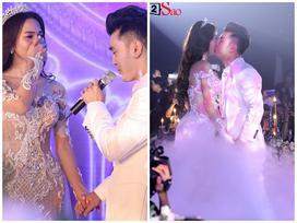 Cô dâu Kim Cương khóc ròng khi chú rể Ưng Hoàng Phúc tỏ tình: 'Nắm tay anh, em đồng ý chứ?'