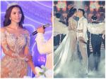 Cận cảnh hai bộ váy cưới xuyên thấu sexy đến 'nghẹt thở' của bà xã Ưng Hoàng Phúc