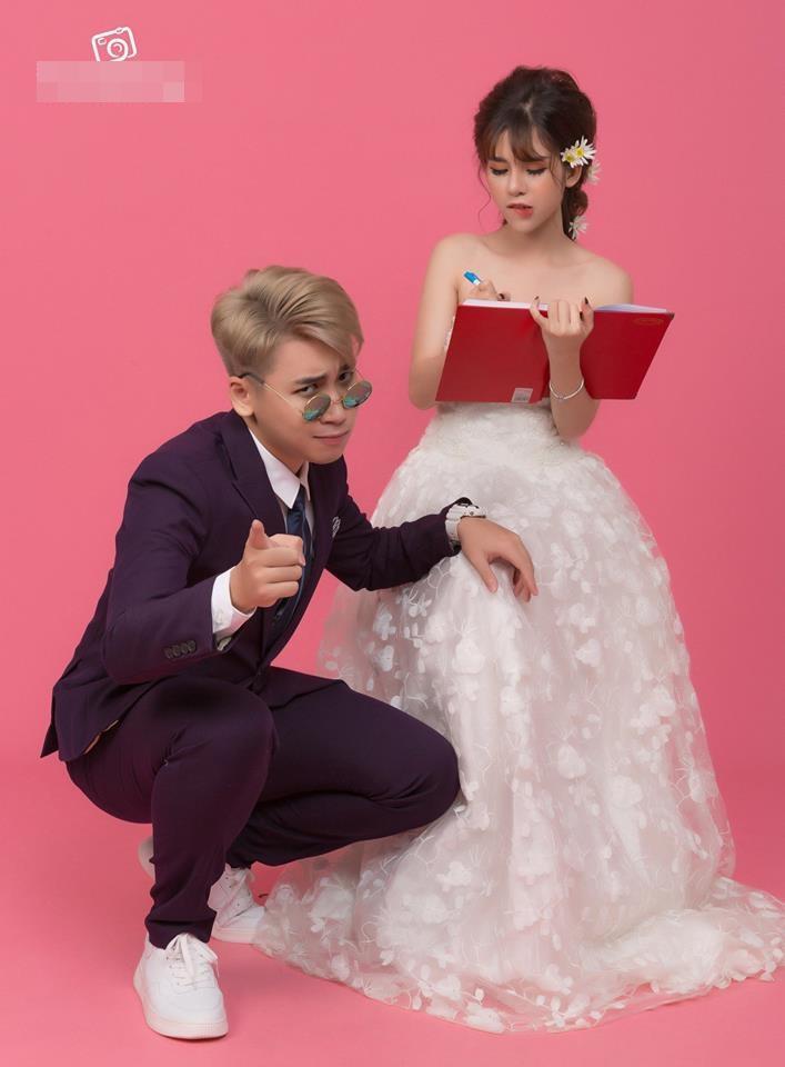 Lộ thiệp mời cưới chất hơn nước cất của vlogger Huy Cung và cô dâu hotgirl-1