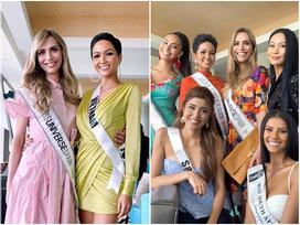 Bất ngờ với cách cư xử của H'Hen Niê và dàn mỹ nhân khi chạm mặt thí sinh chuyển giới tại Miss Universe 2018