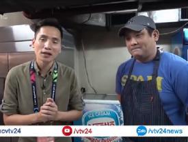 Clip: Các cầu thủ Việt Nam ăn uống thế nào tại Philippines?